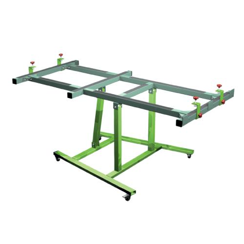 USTM_C65 – Uniwersalny stół monterski / wersja podstawowa z uchylną ramą operacyjną w zakresie 0-65 stopni