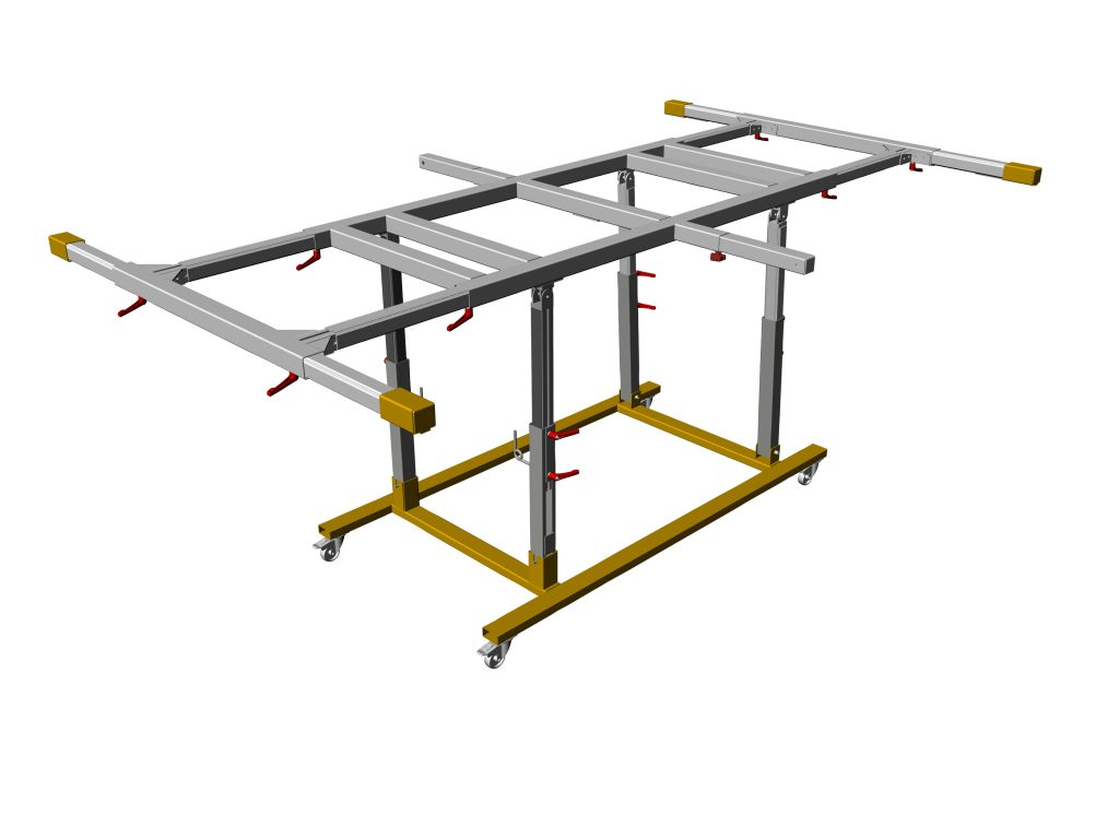 USTM_B01 – Uniwersalny stół monterski do szaf sterowniczych
