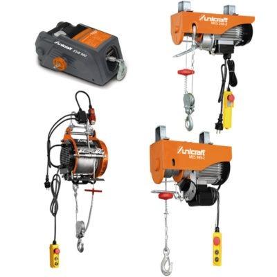 MES 250-2 Elektryczna mini-wciągarka linowa