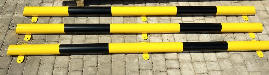 Bariery odbojowe stalowe