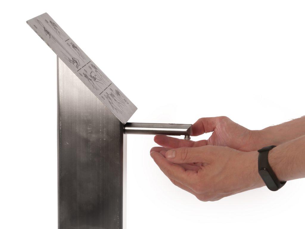 Stacja do dezynfekcji rąk